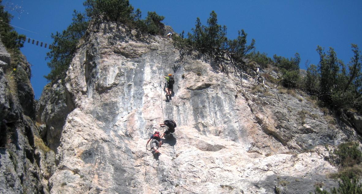 Klettersteig Urlaub : Klettersteige chiemsee alpenland tourismus