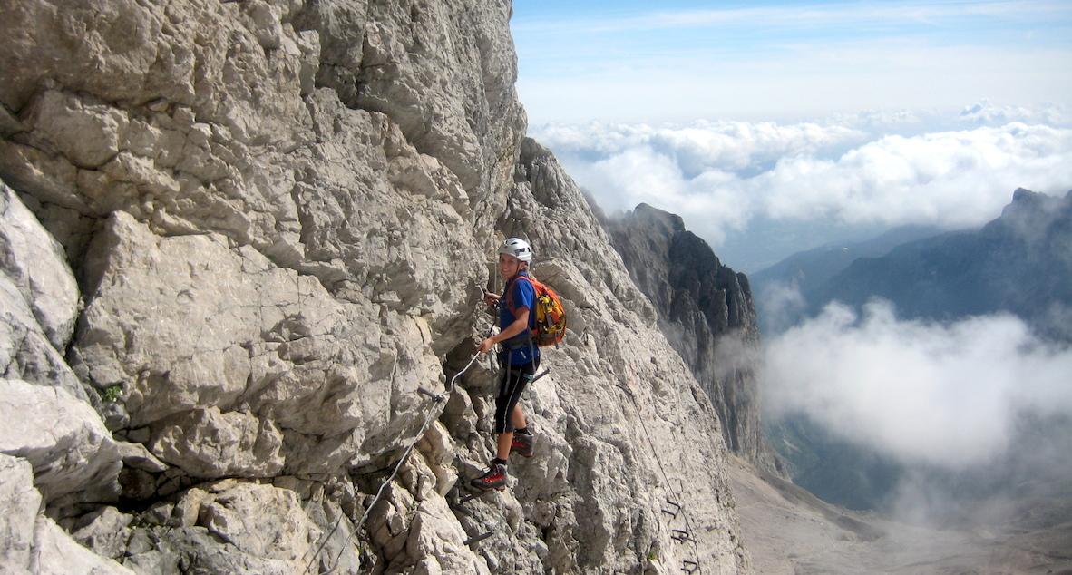 Klettersteig Urlaub : Klettersteige klettern kletter urlaub im berchtesgadener land